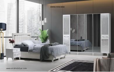 Gümüş Yatak Odası Takımı