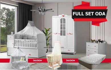 Prenses Bebek Odası Full Set